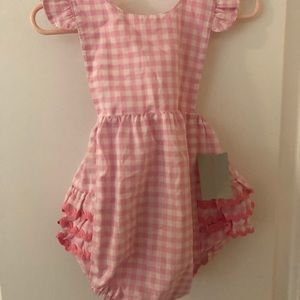 Southern tots gingham bubble